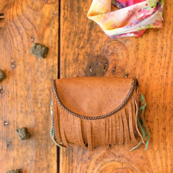 Mustang Maddy Leather Treat Pouch