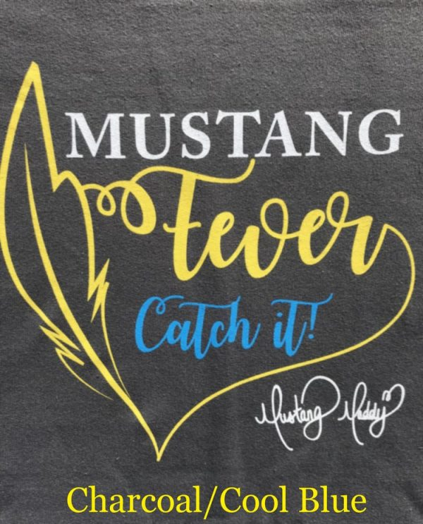 Mustang Maddy New Fever Tour Sweatshirt Charcoal Design
