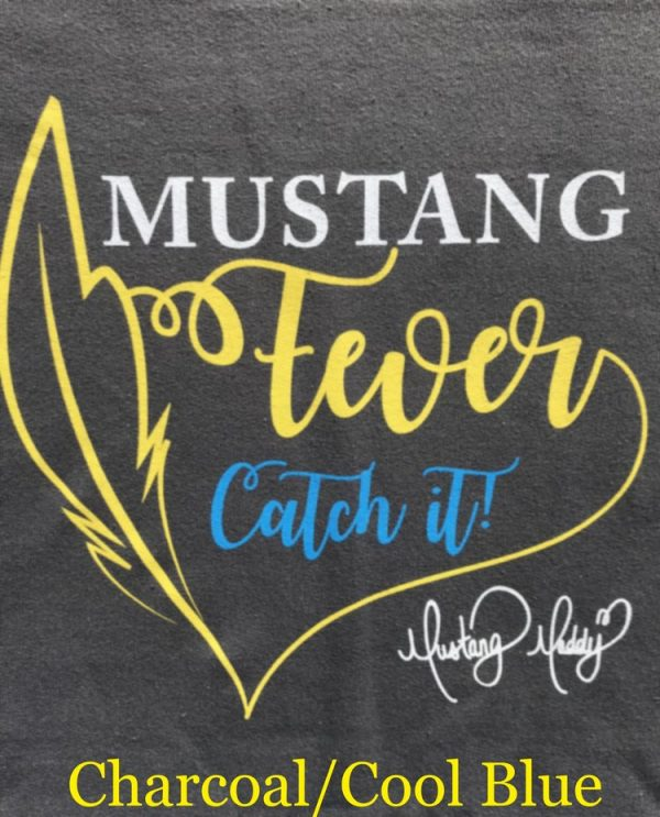 Mustang Maddy New Fever Tour T-Shirt Charcoal Design