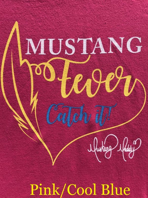 Mustang Maddy New Fever Tour T-Shirt Pink Design