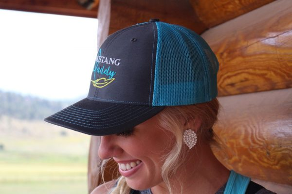 Mustang Maddy Trucker Hat Side